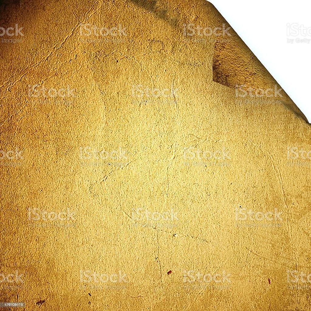Empty paper sheet royalty-free stock photo