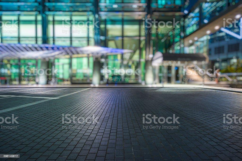 empty pavement stock photo