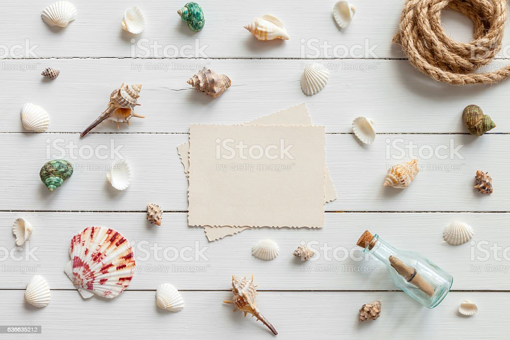 Empty photo for inside and nautical life style items. stock photo