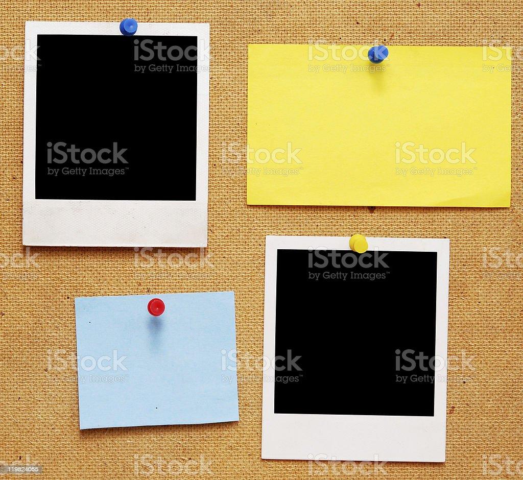 empty photo frames royalty-free stock photo