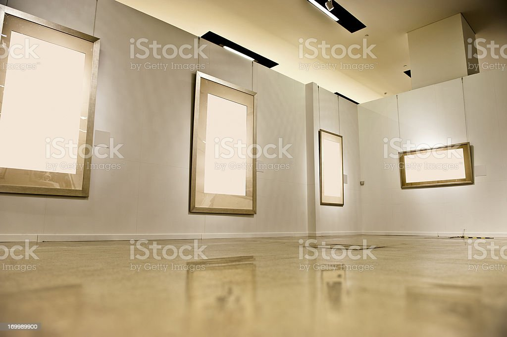 Empty Picture Frame royalty-free stock photo