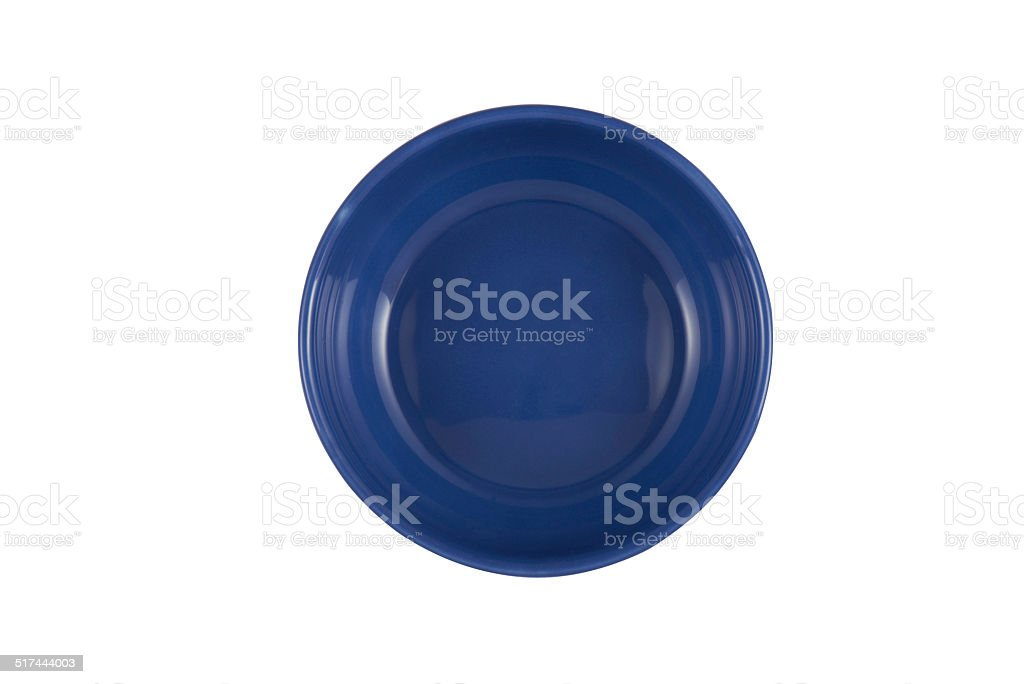 Empty Plate (clipping paths) stock photo