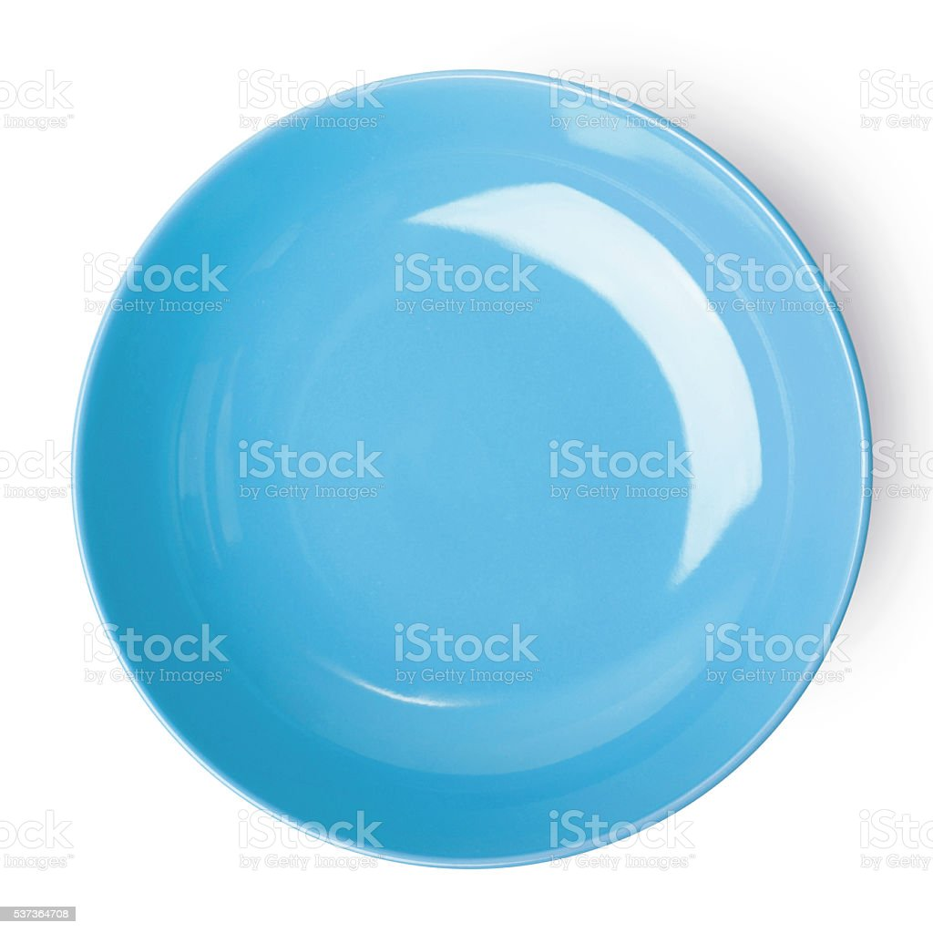 Empty plate. stock photo