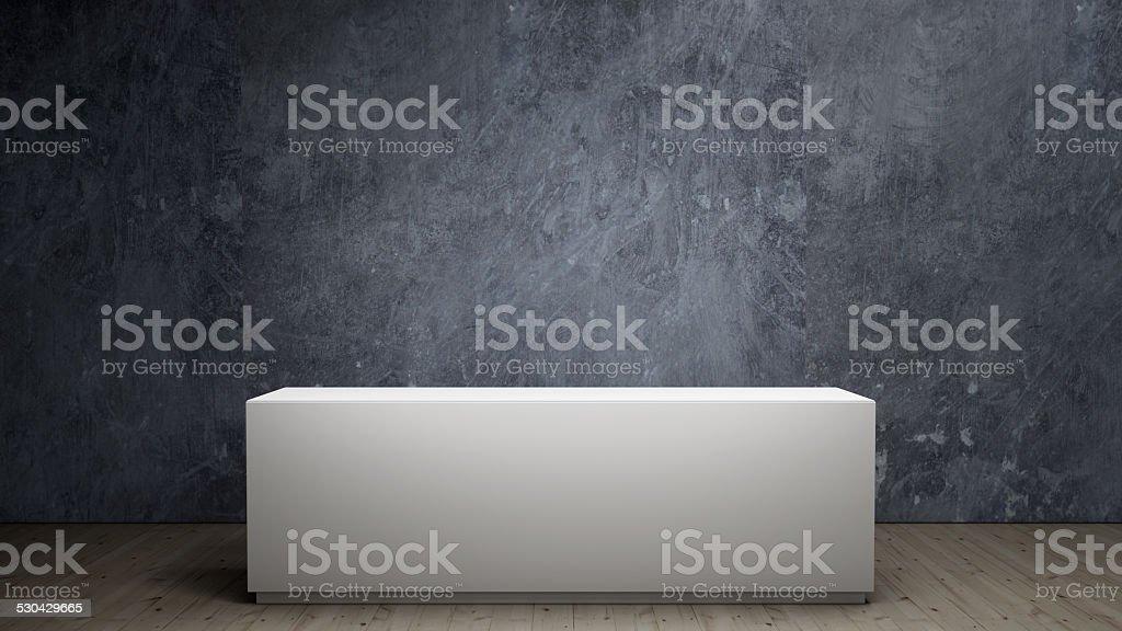 empty plinth stock photo