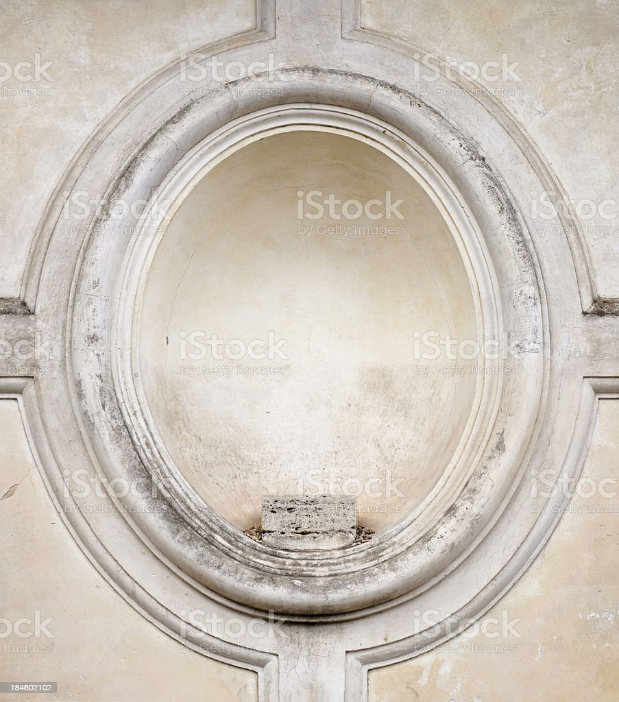 Empty Plinth Surround royalty-free stock photo