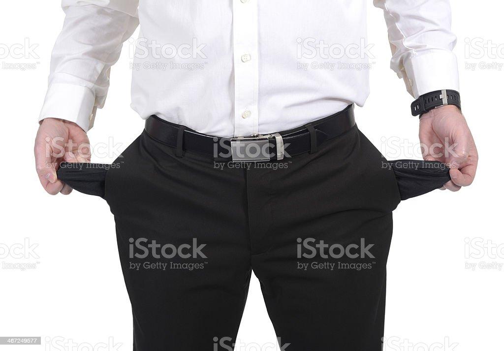 empty pockets stock photo