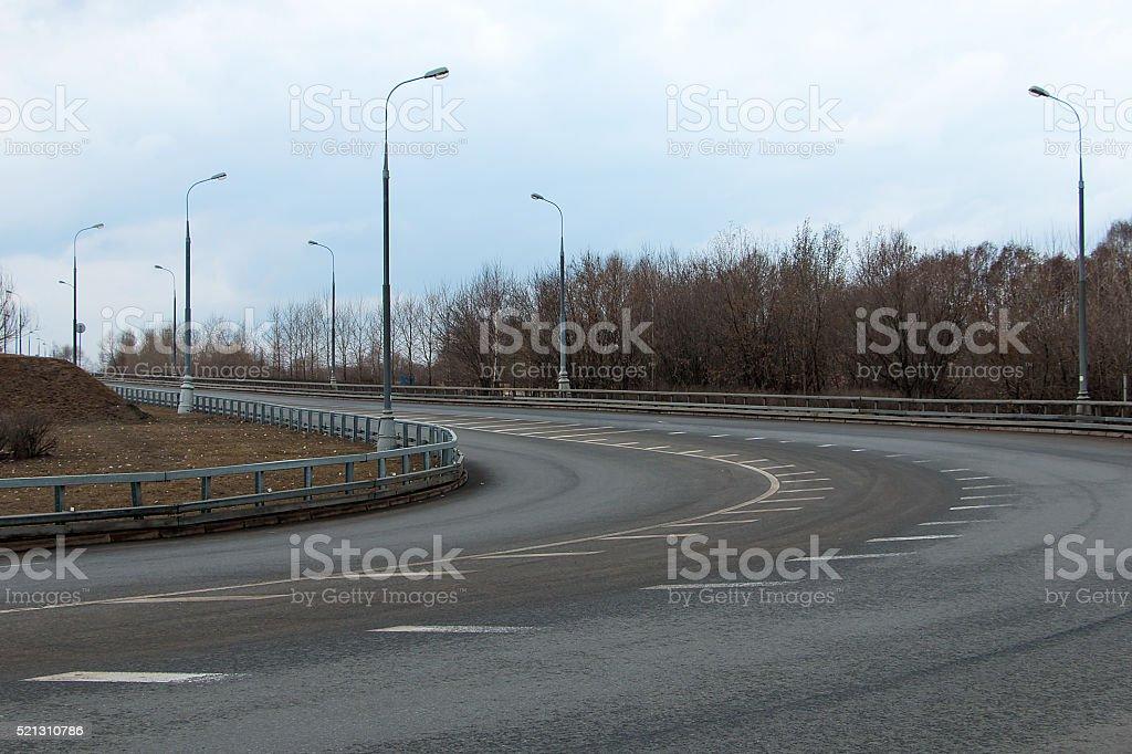 empty road highway stock photo