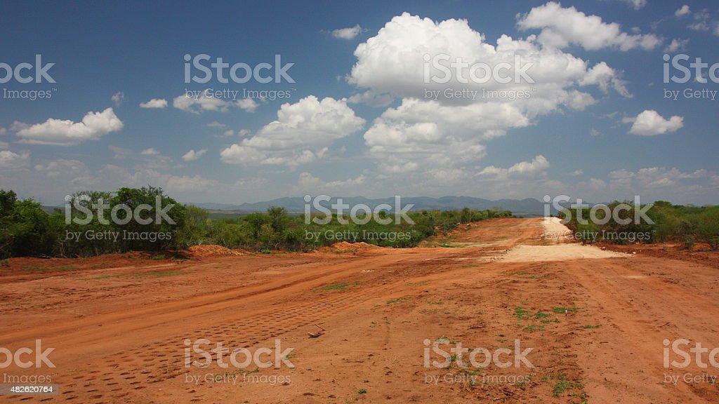 Empty road royalty-free stock photo