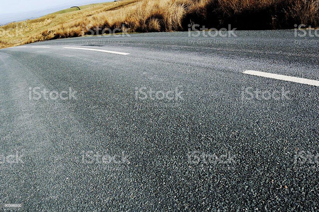 empty road tarmac, travel fast royalty-free stock photo