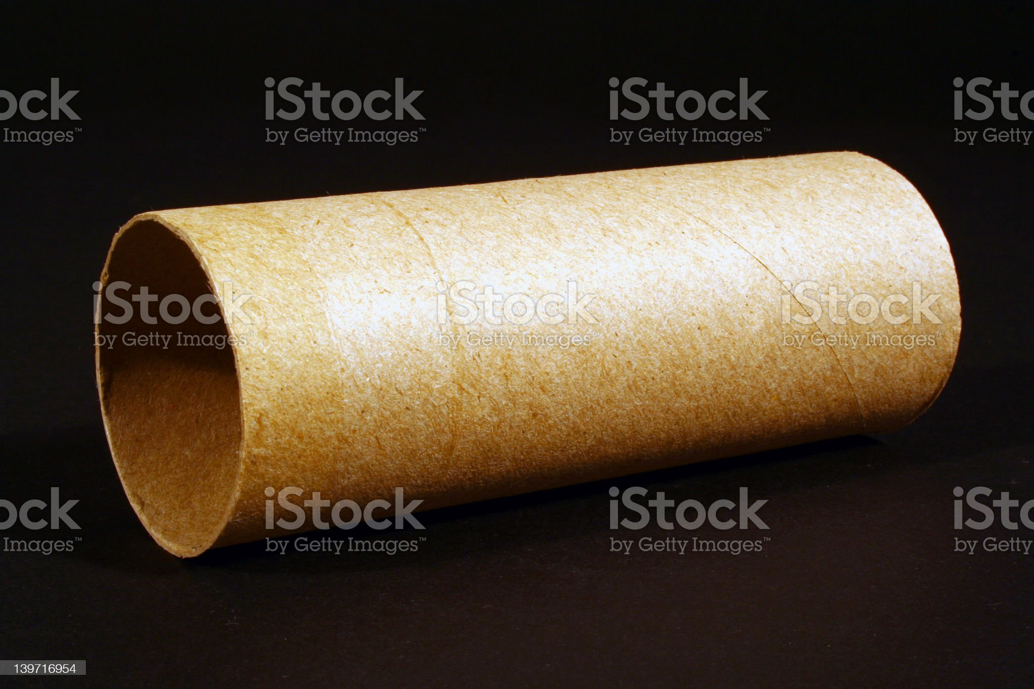 Empty Roll royalty-free stock photo