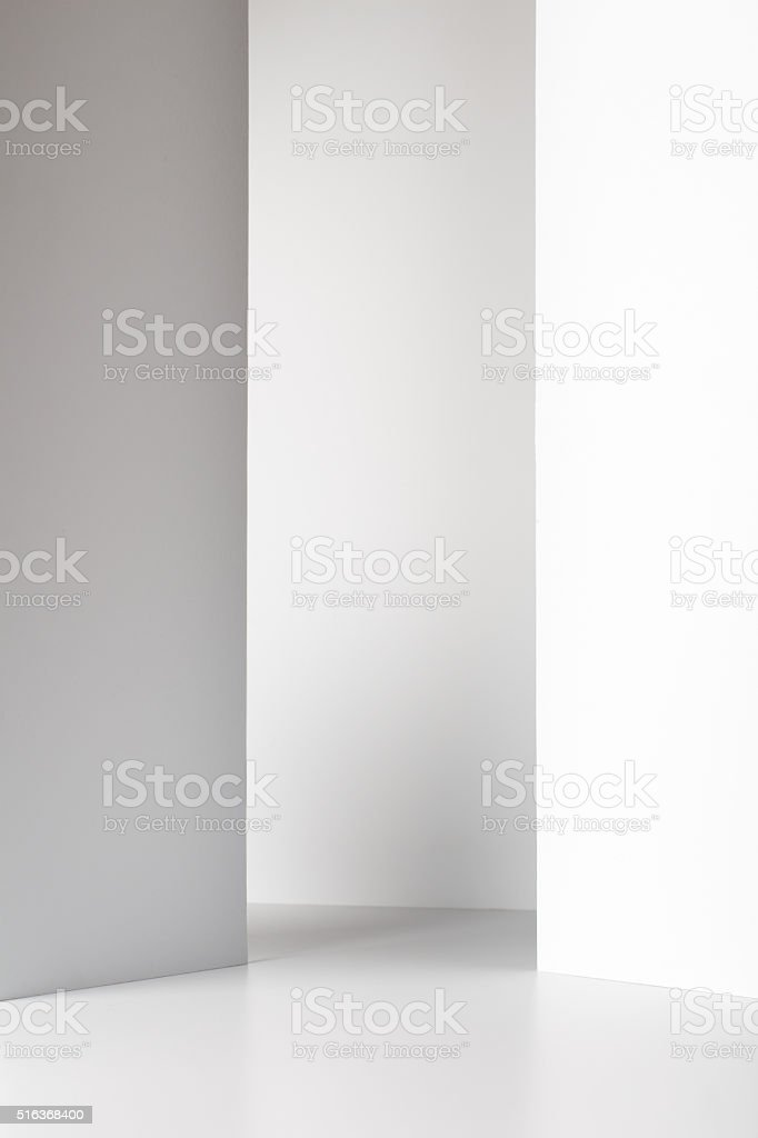 Empty Room Interior stock photo