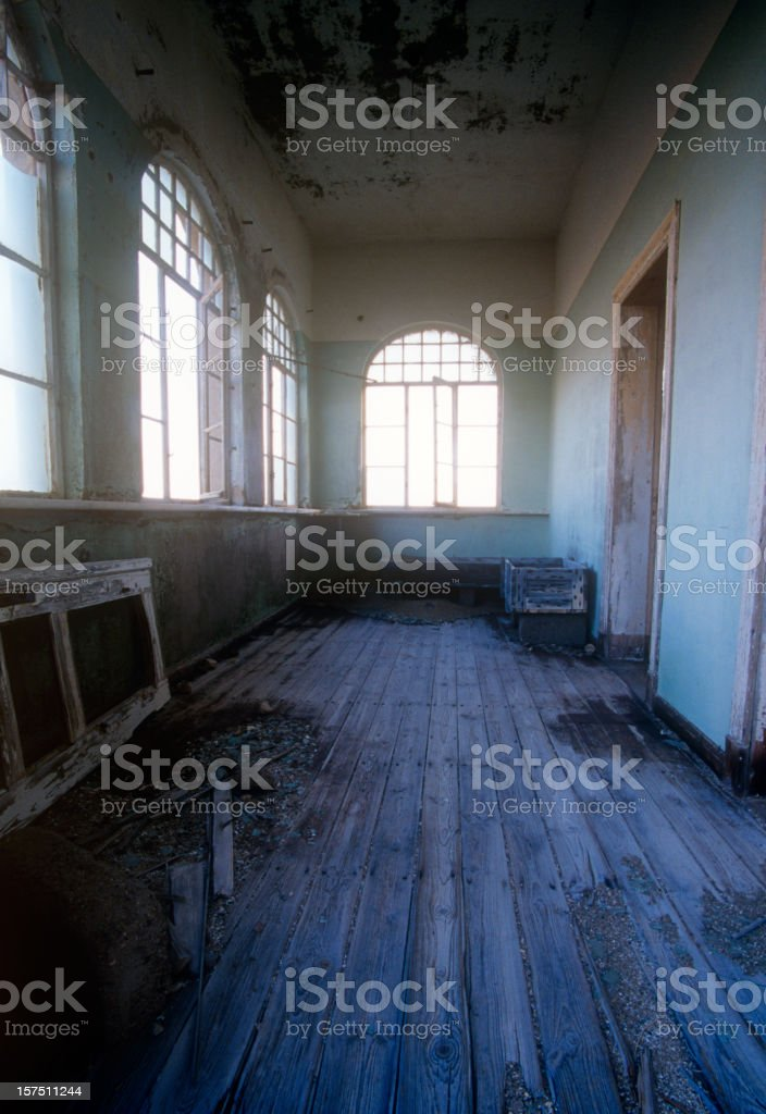 Empty Room stock photo