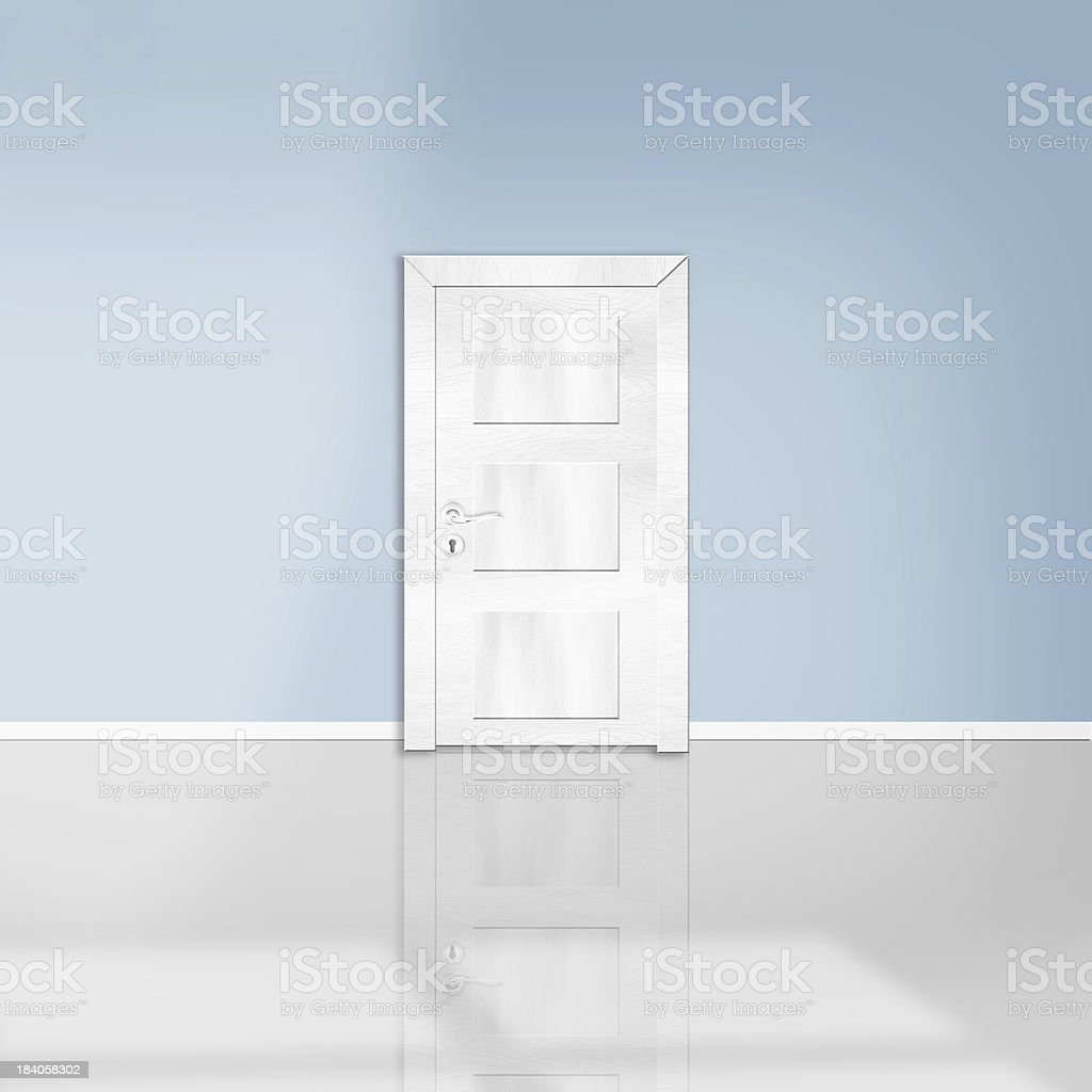 Empty room royalty-free stock photo