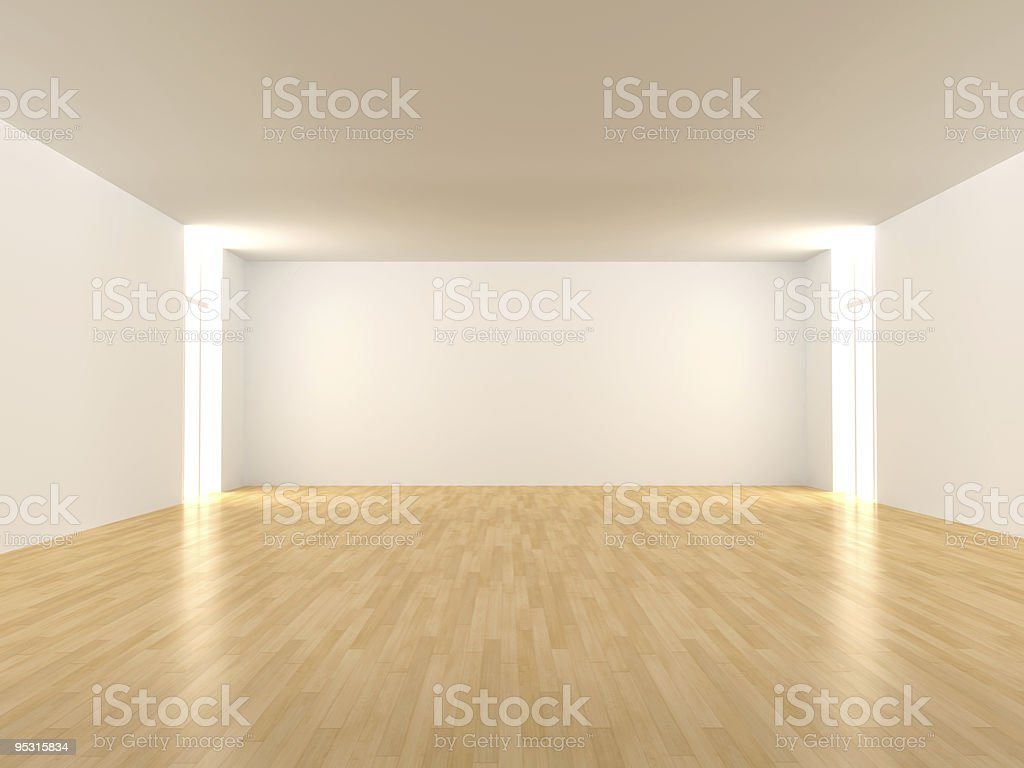 Empty Room. royalty-free stock photo