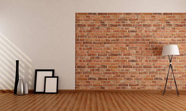 Mur brique int rieur photos et images libres de droits - Imitation de brique interieur ...