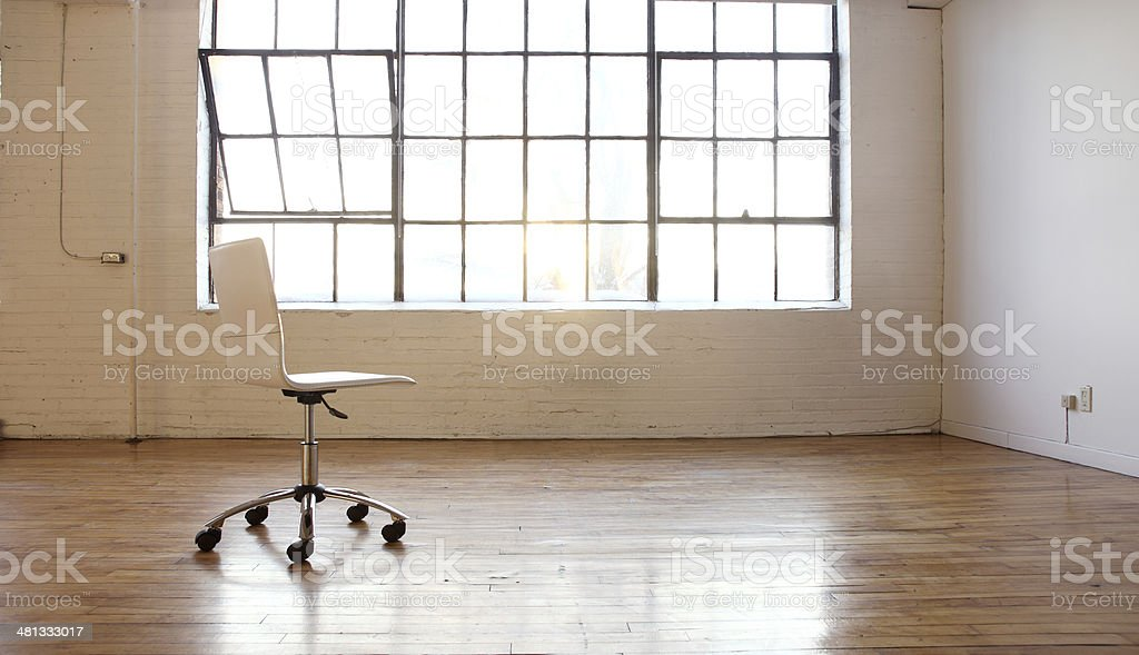 Empty Room-Vacant royalty-free stock photo