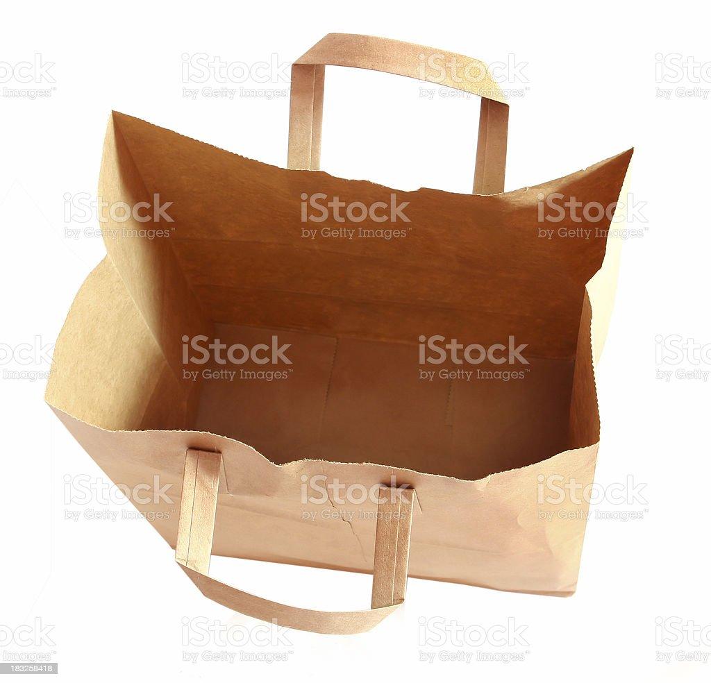 Empty Sack royalty-free stock photo