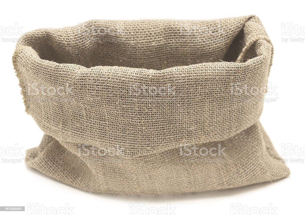 empty sack stock photo