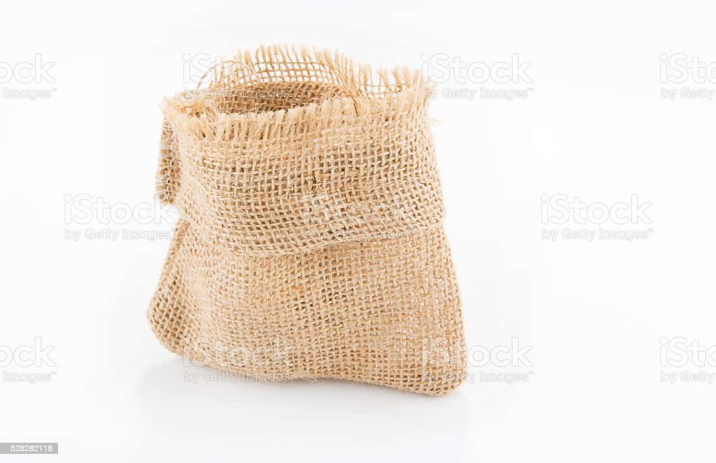 empty sack stock photo