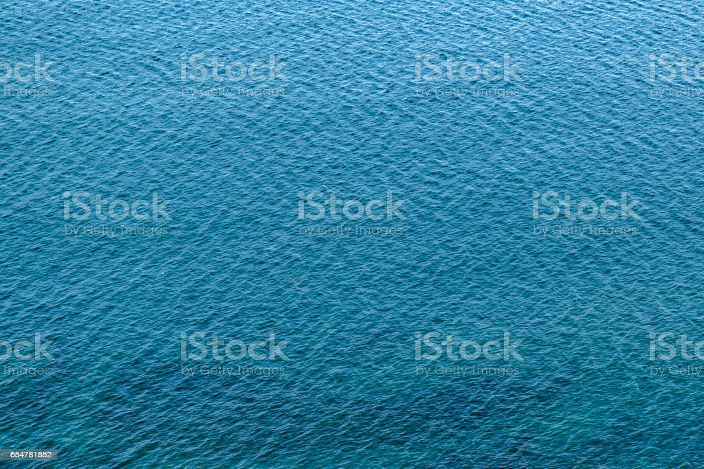 Empty Seascape Chubut Argentina stock photo