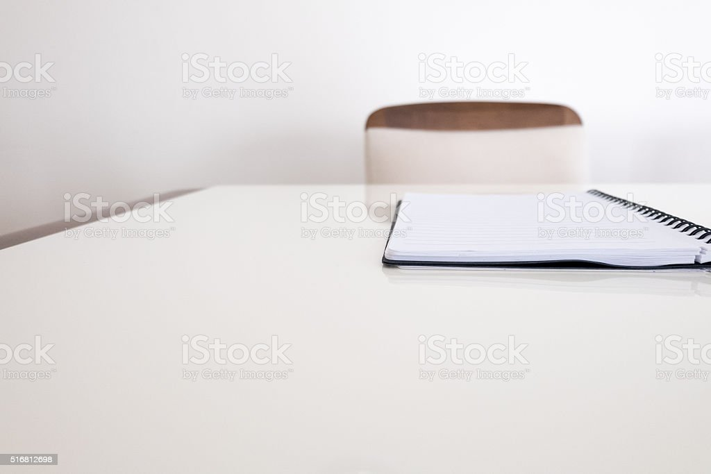 Empty seat stock photo