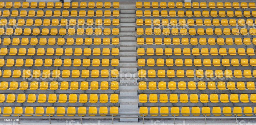 empty seats stock photo