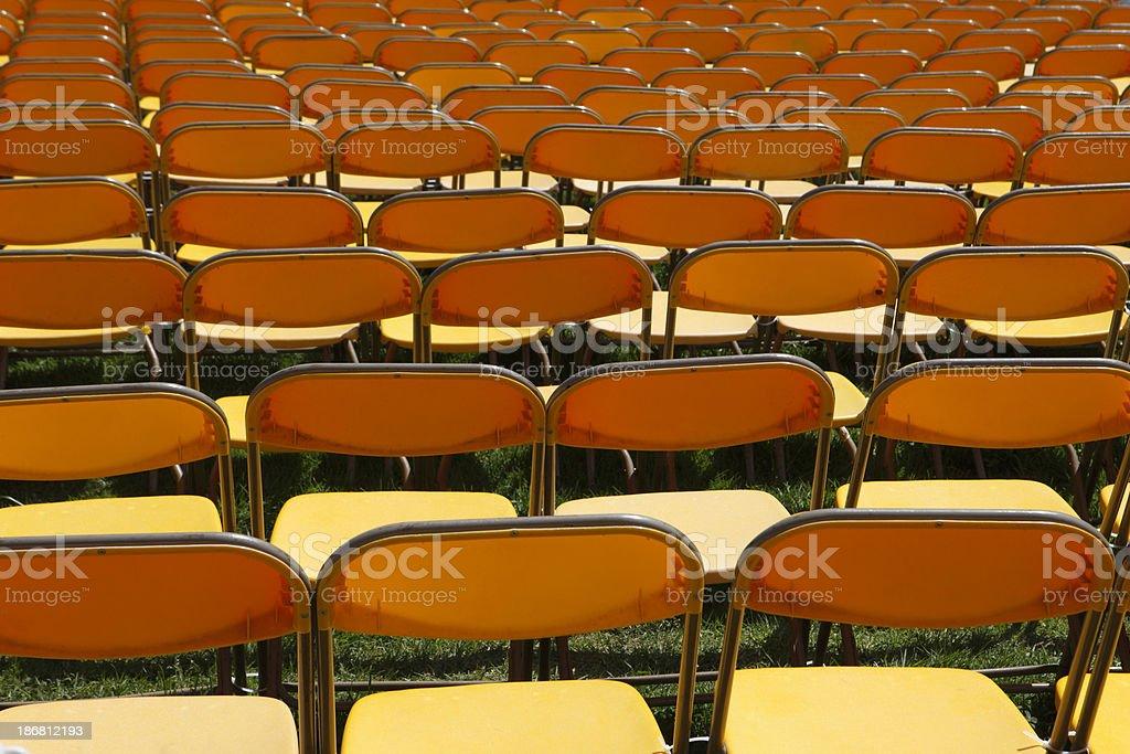 Leere Sitze – Foto