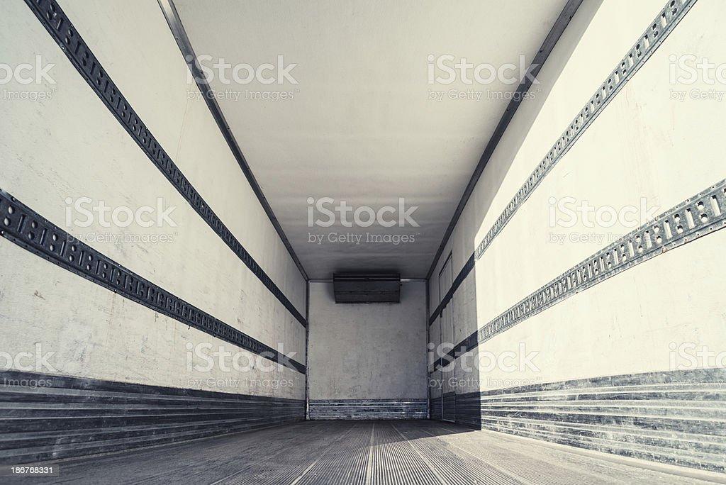 Empty Semi royalty-free stock photo