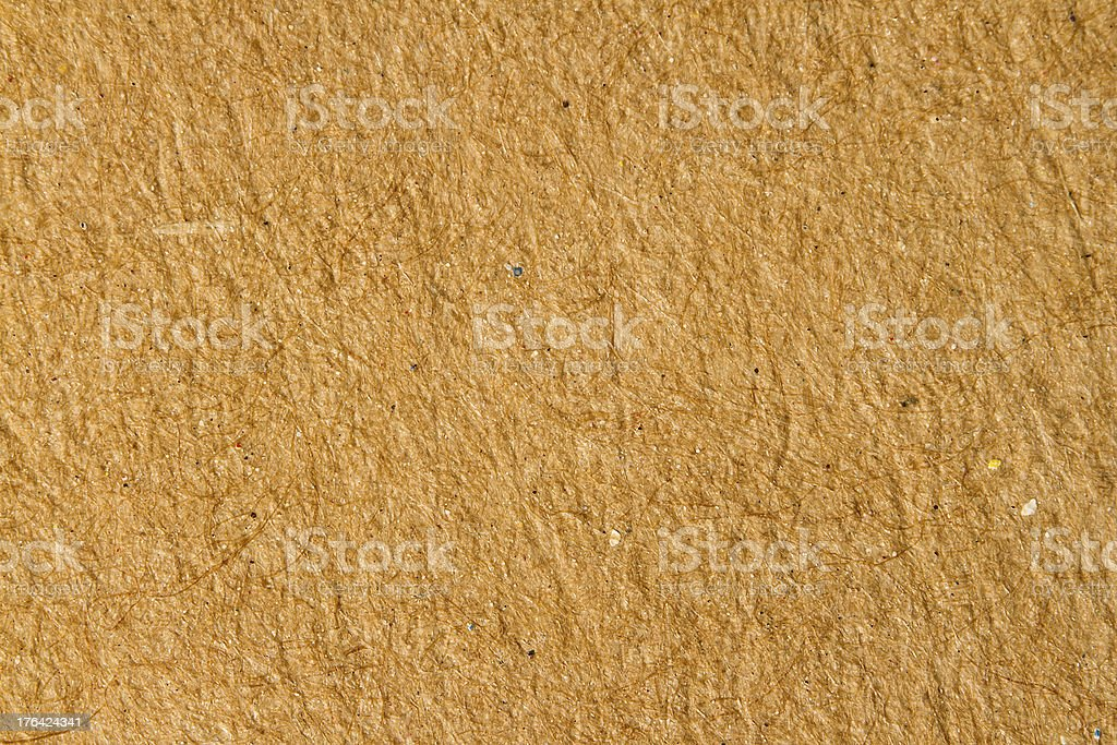 Empty sheet of recycle paper for natural background stock photo