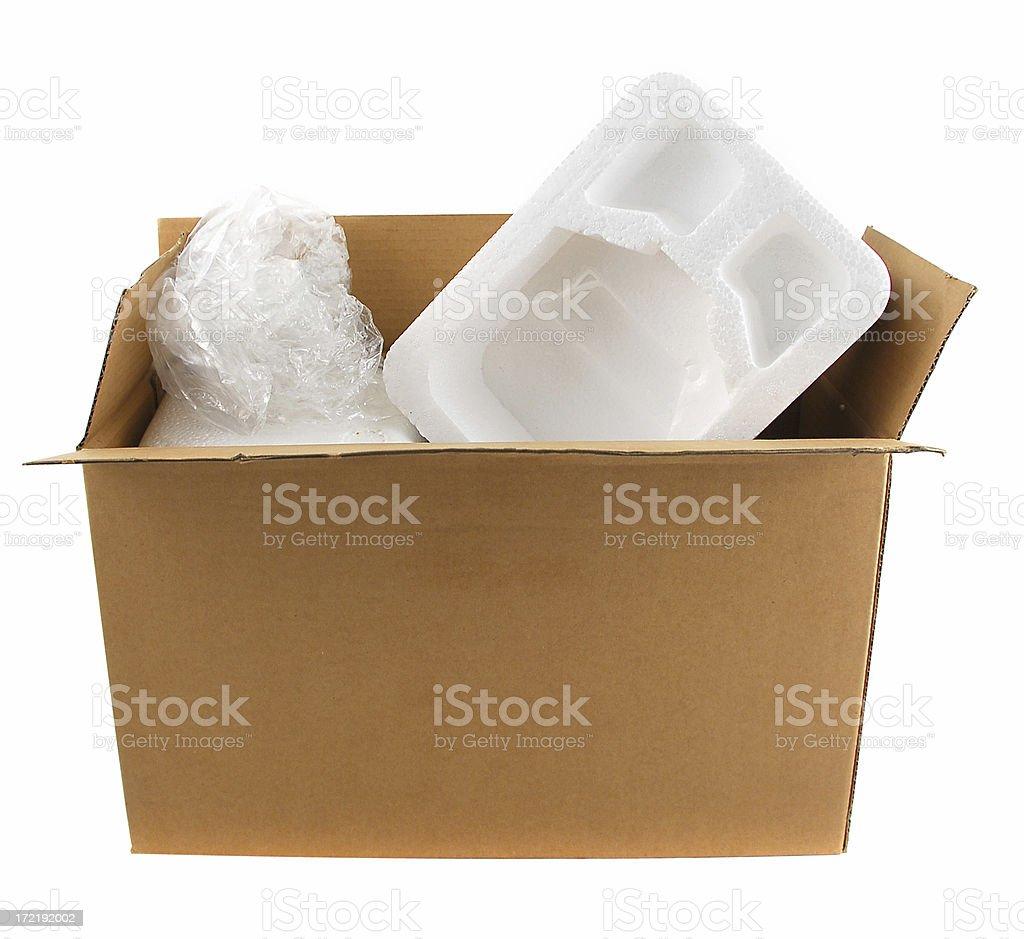 Empty shipment royalty-free stock photo