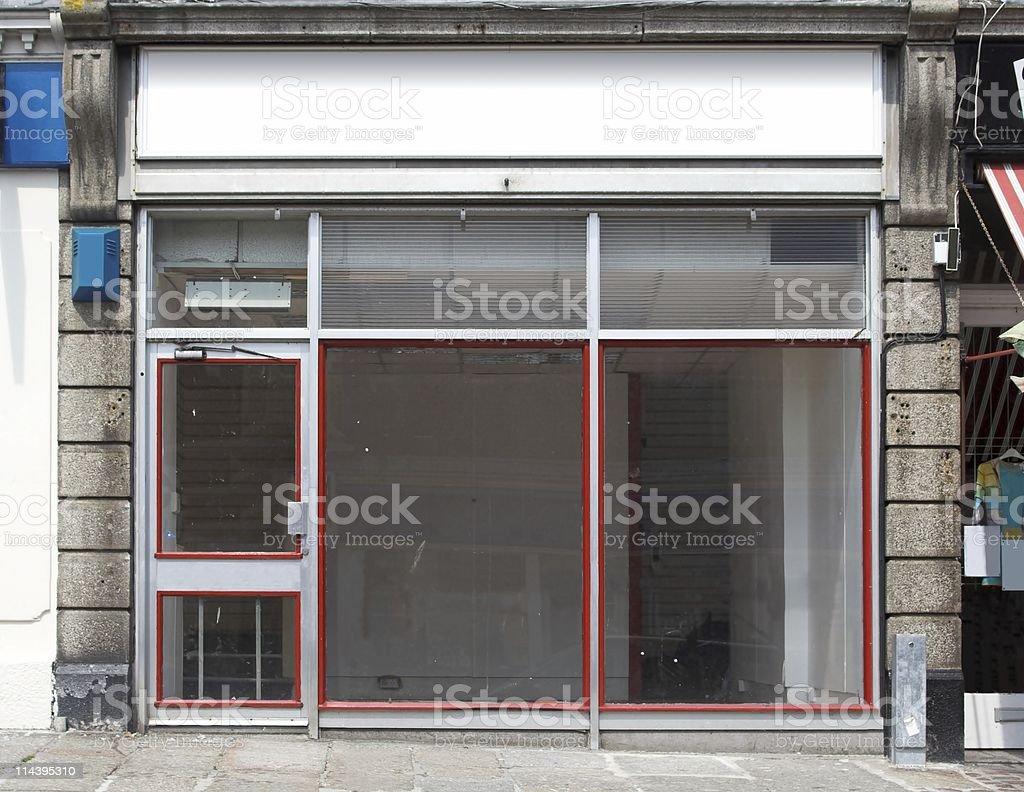 Empty Shop royalty-free stock photo