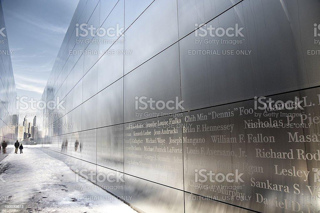 Empty Sky Memorial stock photo