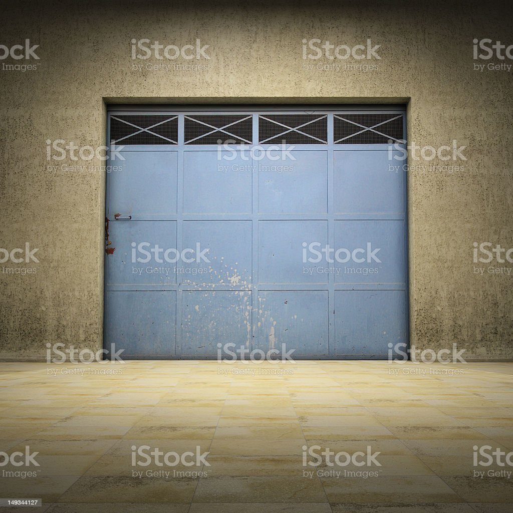 Empty space of grungy concrete royalty-free stock photo