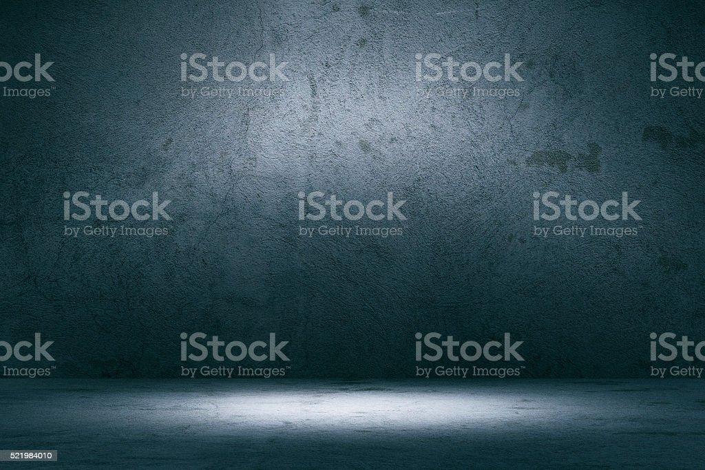 Empty spotlit concrete background royalty-free stock photo