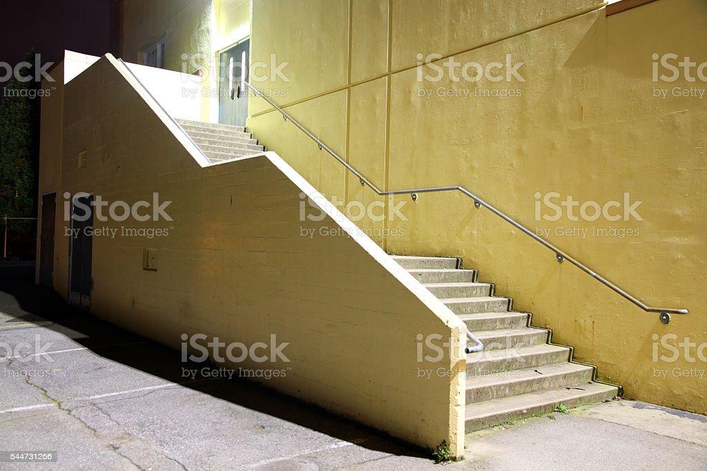 Empty Stair stock photo