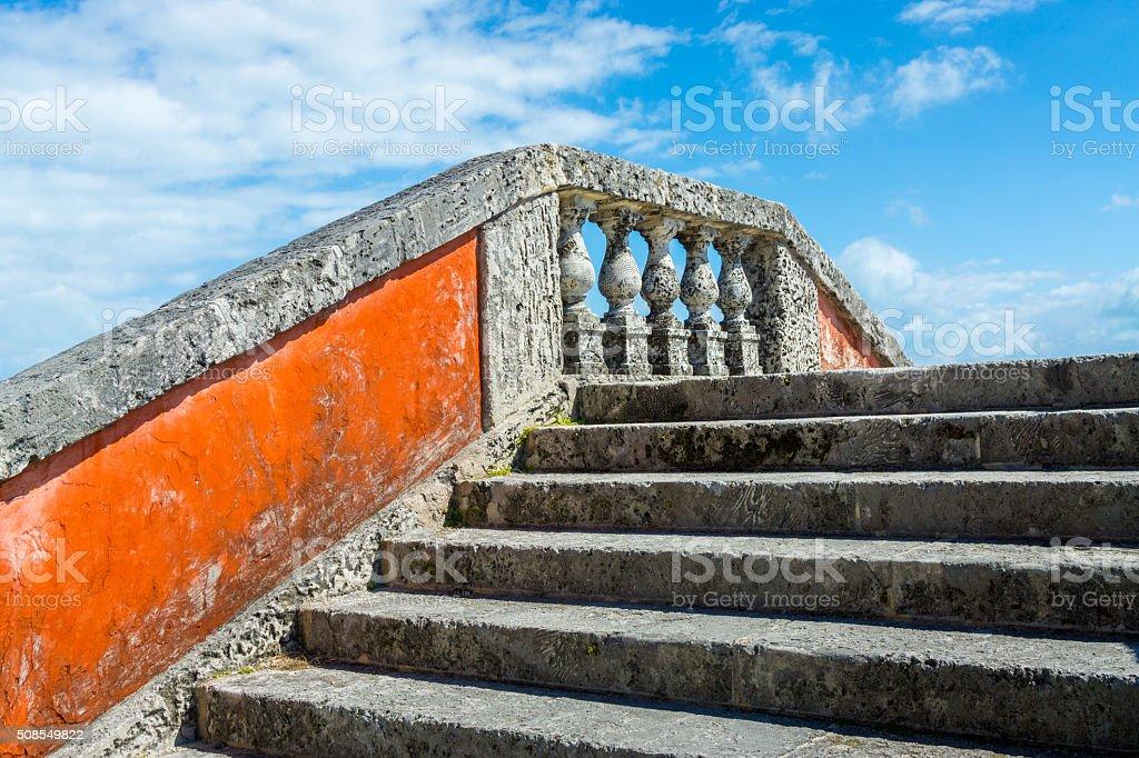 Empty Staircase stock photo