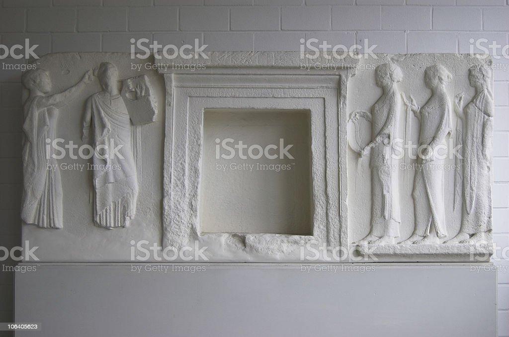 empty stone tablet royalty-free stock photo
