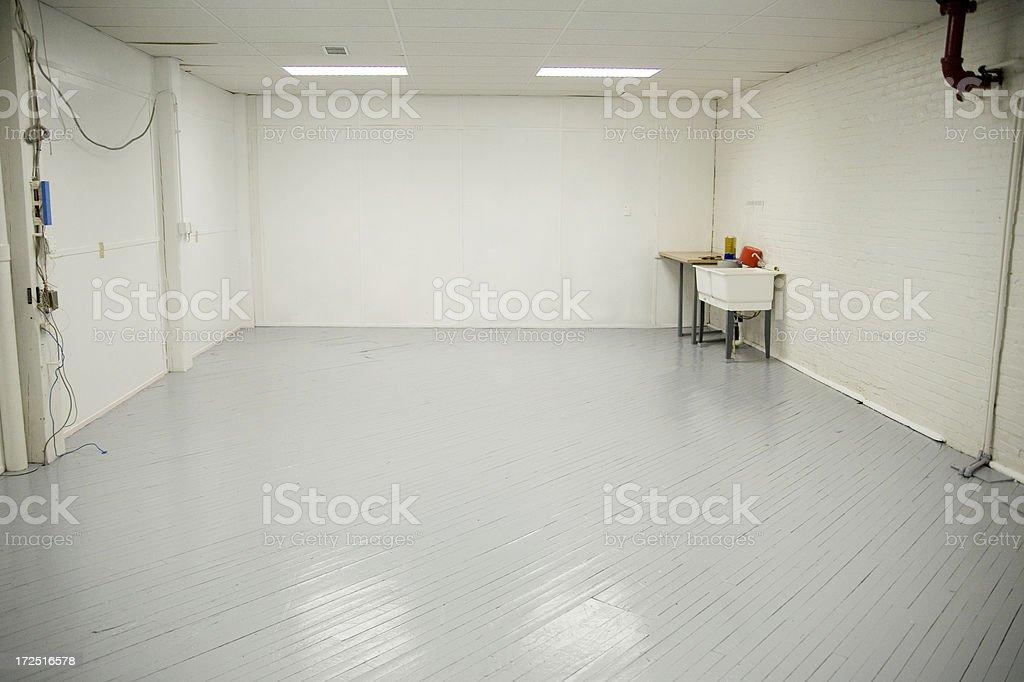 Empty Studio royalty-free stock photo