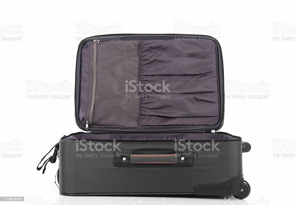 Empty Suitcase Series royalty-free stock photo