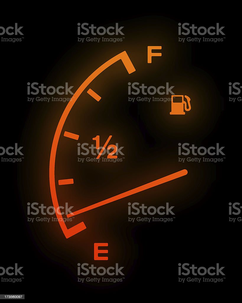 Empty Tank stock photo