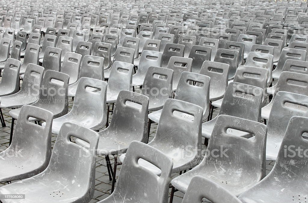 Empty theater royalty-free stock photo