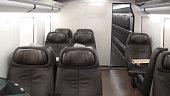 Empty Train Seat Scenery
