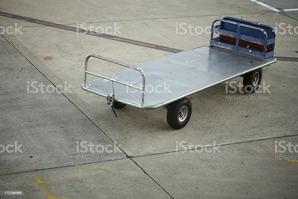 Empty Trolley stock photo