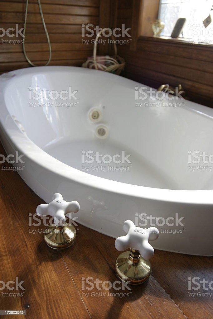 Empty Tub stock photo