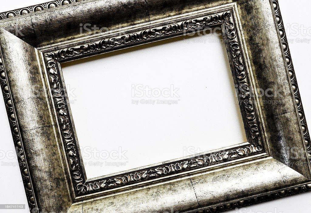Empty vintage frame royalty-free stock photo