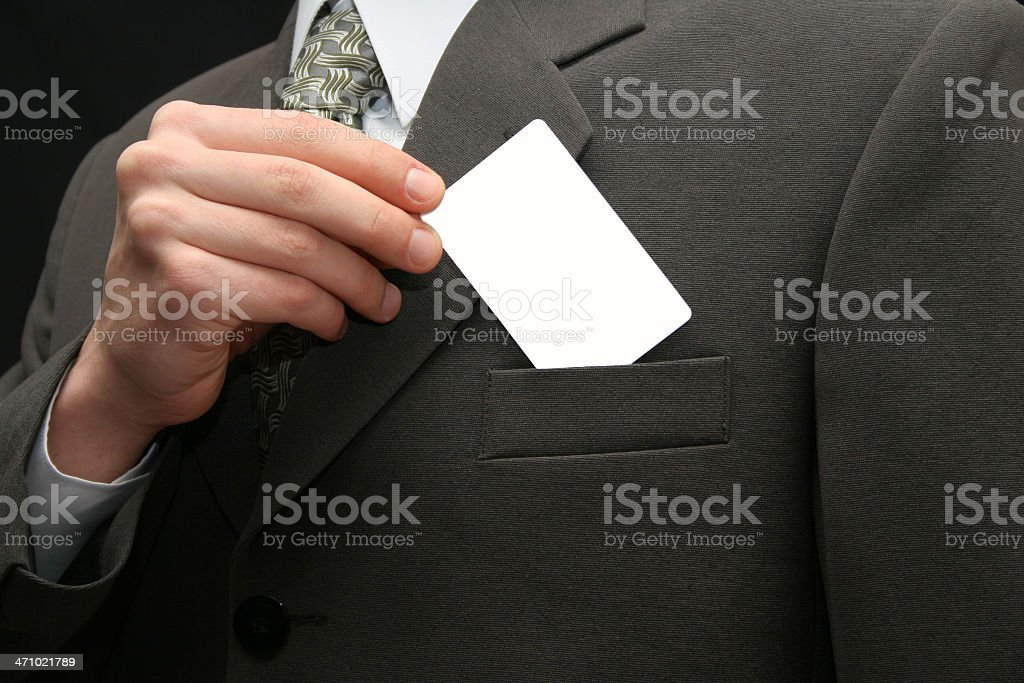 Empty visiting card royalty-free stock photo