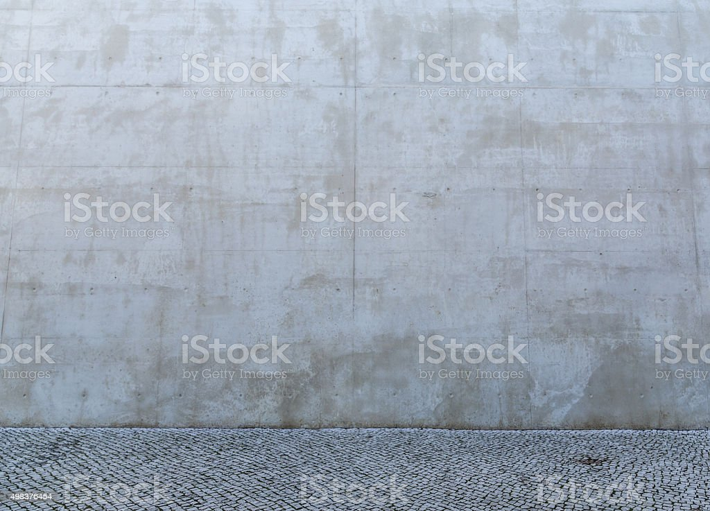Empty wall and tile stock photo