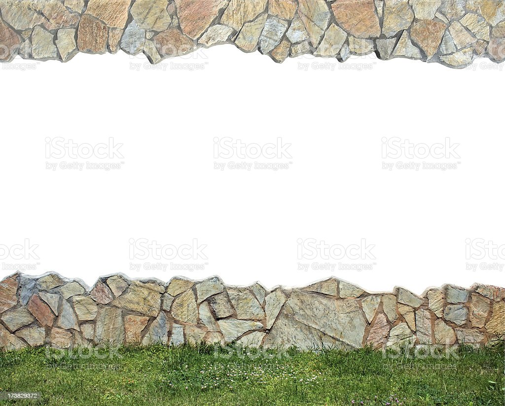 Empty wall royalty-free stock photo