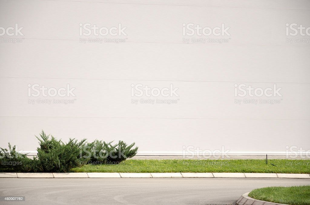 Empty wall stock photo