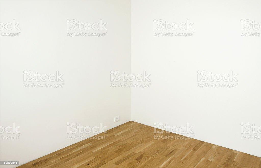 Empty white walls royalty-free stock photo